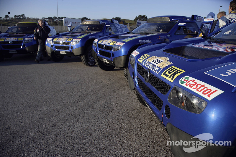 Volkswagen Motorsport sort à Jarama