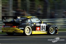 #84 Stadler Motorsport Porsche 911 GT2: Enzo Calderari, Lilian Bryner, Angelo Zadra