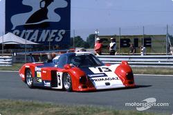 #13 Primagaz Cougar C12 Porsche: Yves Courage, Alain de Cadenet, Jean-François Yvon