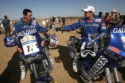 Michel Gau and Cyril Despres