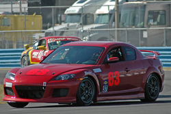 #63 Roar Racing/NRG Motorsports Mazda RX-8: Danny Alvis, Mike Smellie