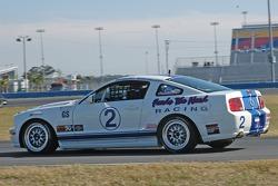 #2 Blackforest Motorsports Mustang GT: Forest Barber, Terry Borcheller