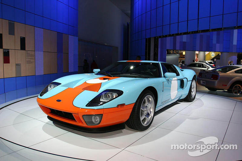Ford Gt With The Legendary Gulf Livery
