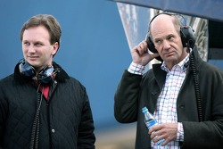 Christian Horner and Adrian Newey