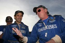 Jean-Louis Schlesser and Thierry Magnaldi