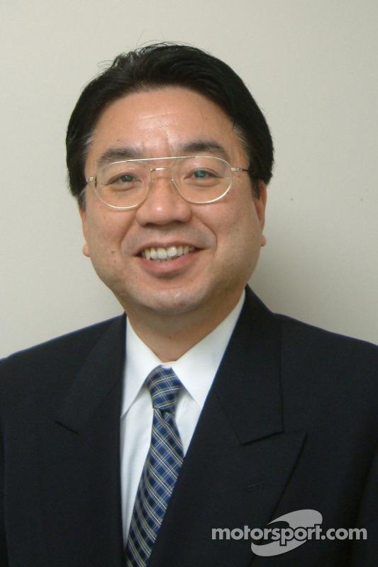 Yoshiaki Kinoshita, General Manager, Motor Sport Division (Toyota Motor Corporation) le vice-préside