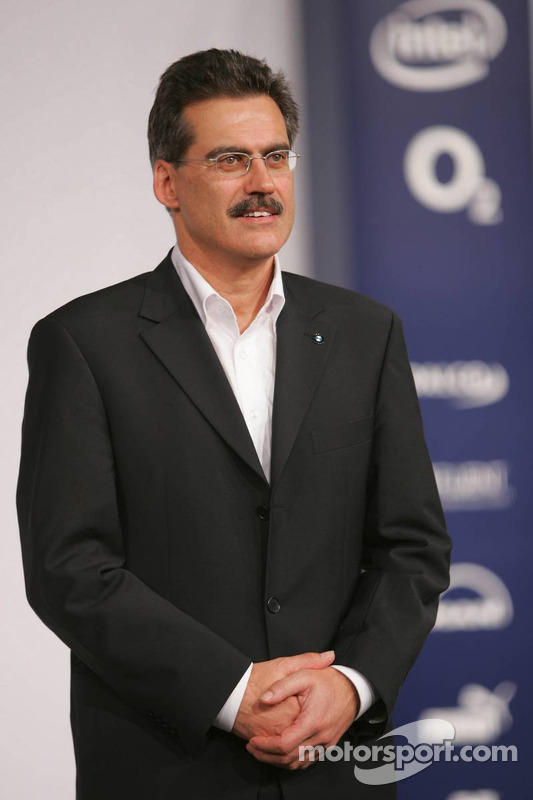 Dr Mario Theissen (BMW Motorsport Director)