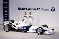 Jacques Villeneuve and Nick Heidfeld
