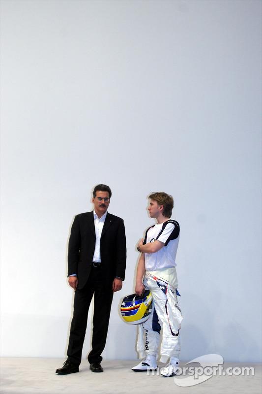 Mario Theissen et Nick Heidfeld