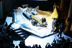 The new Renault R26 is unveiled