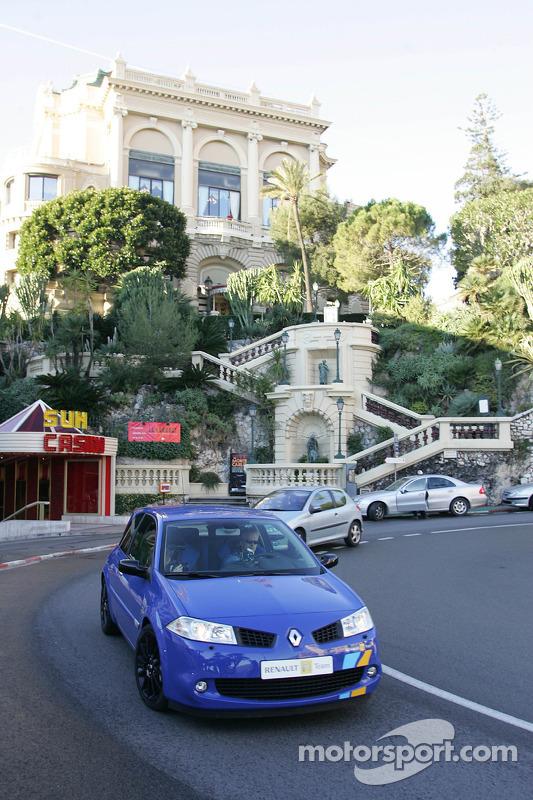 Pilotage dans Monaco