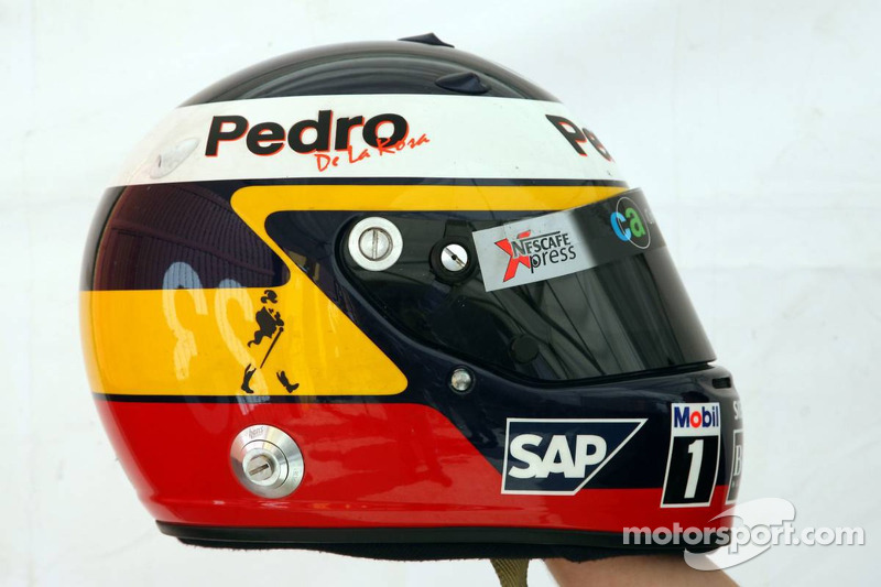 Helmet of Pedro de la Rosa