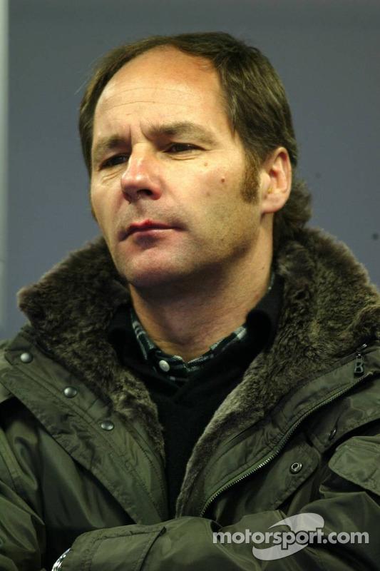 Le co-propriétaire de la Scuderia Toro Rosso Gerhard Berger