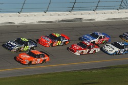 Tony Stewart and Jimmie Johnson lead the field