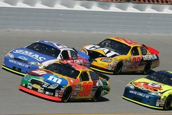 Elliott Sadler, Brian Vickers and Dave Blaney
