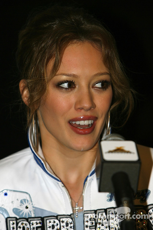 Conférence de presse: Hilary Duff