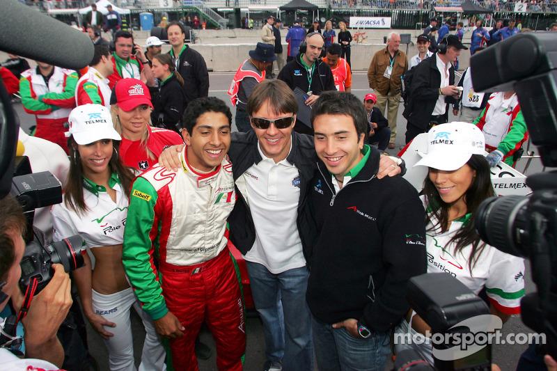 Salvador Duran, Adrián Fernández y David Martínez