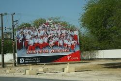 Toyota advertising in Bahrain