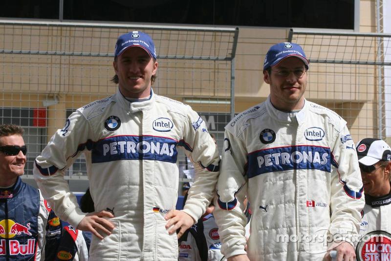Presentación de pilotos: Nick Heidfeld y Jacques Villeneuve