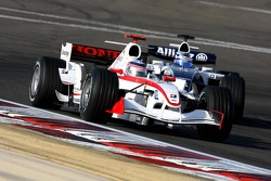 Takuma Sato and Nico Rosberg