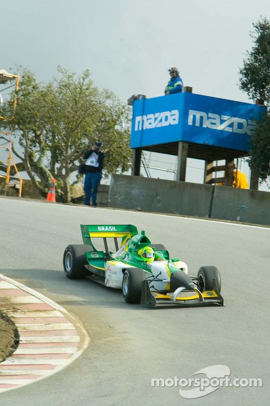 Le pilote de l'équipe du Brésil Christian Fittipaldi