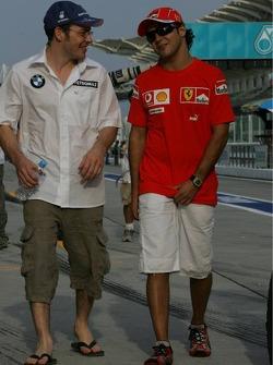 Jacques Villeneuve y Felipe Massa