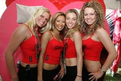 Charming Bacardi girls