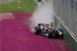 Christian Klien crashes