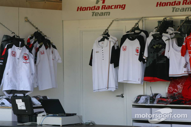Honda Racing merchandise