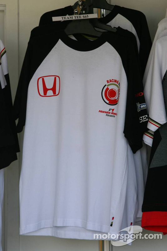 Marchandise de l'équipe Honda Racing
