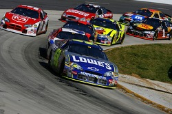 Jimmie Johnson leads the pack