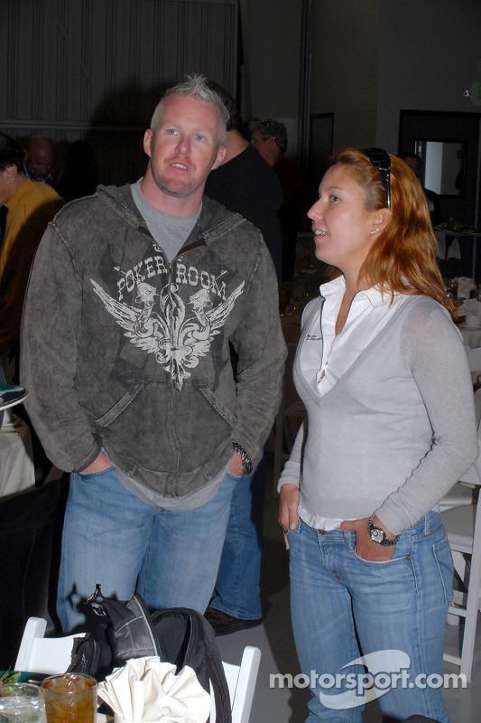 Paul Tracy et Diana Junqueira