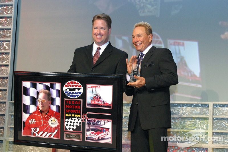 Kenny Bernstein accepte son introduction au Hall of Fame du Texas Motor Sport