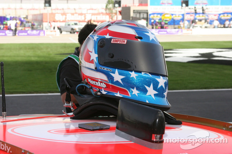 Casque de Sam Hornish Jr.