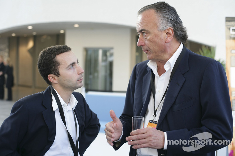 Propriétaire Maurizio Salvadori avec Nicolas Todt