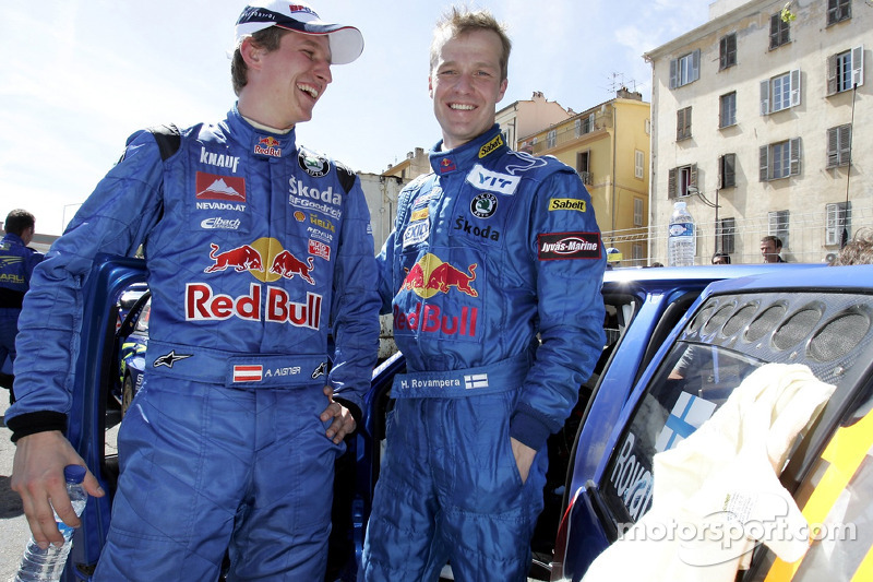 Harri Rovanpera et Andreas Aigner