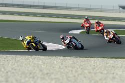Valentino Rossi leads the field