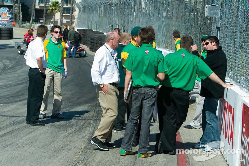 L'équipe Team Australia parle de la position de piste le jeudi
