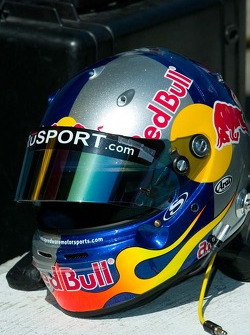 Helmet of A.J. Allmendinger