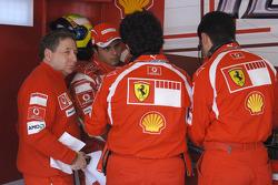 Jean Todt and Felipe Massa