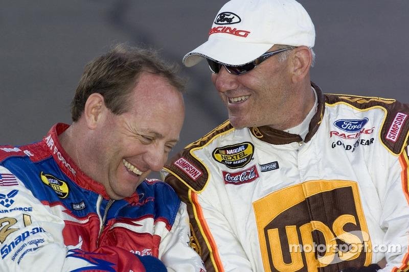 Ken Schrader et Dale Jarrett