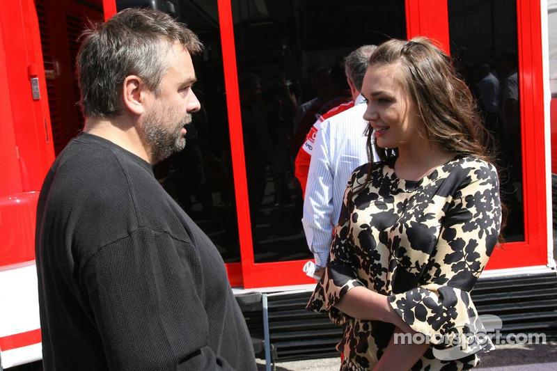 Luc Besson et Tamara Ecclestone