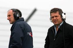 Franz Tost and Gil de Ferran