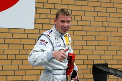 Second place in qualifying for Mika Hakkinen