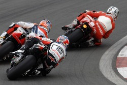 Sete Gibernau, Ducati; Dani Pedrosa; Repsol Honda; Casey Stoner, LCR Honda