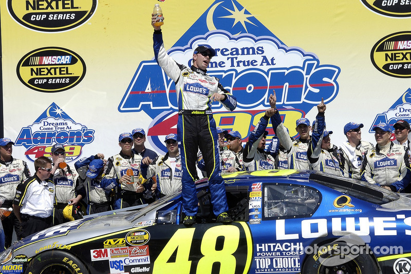 2006, Talladega 1: Jimmie Johnson (Hendrick-Chevrolet)