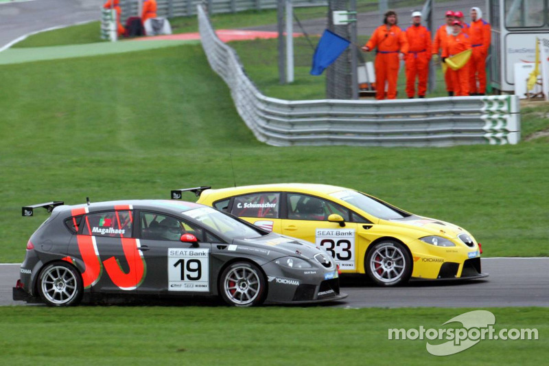 Seat Leon Supercopa: race action