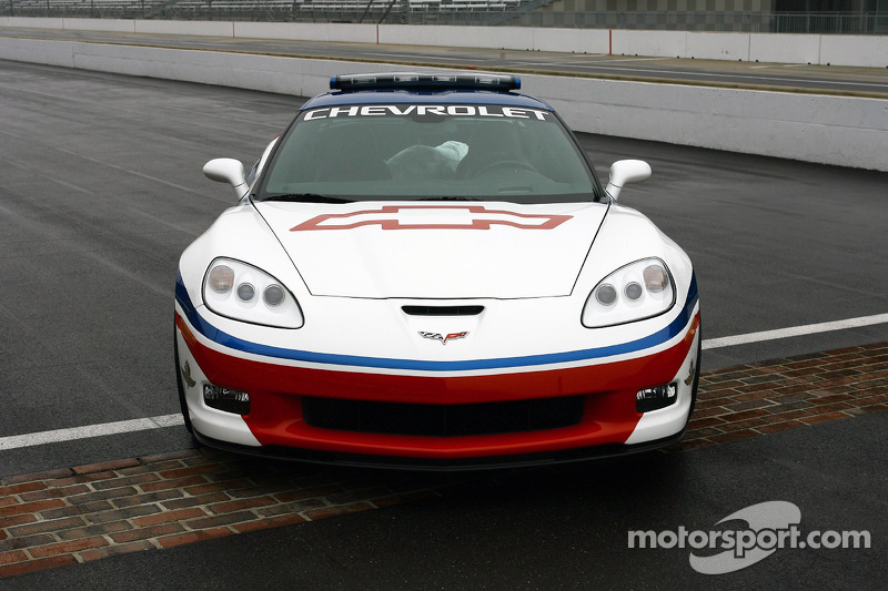 The 2006 Chevrolet Corvette Z06 Pace Car To Be Driven On Race Day