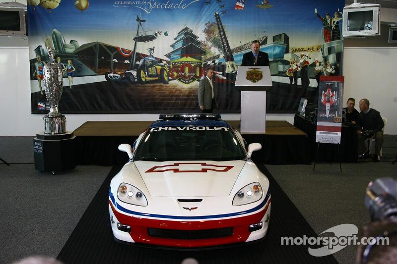 La 2006 Chevrolet Corvette Z06 au 90e Indianapolis 500