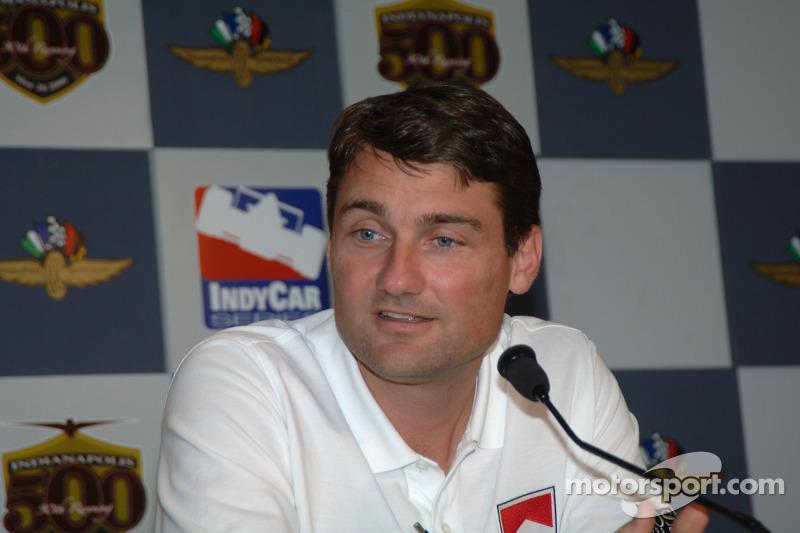 Le président de Penske Racing Tim Cindric
